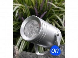 LED Outdoor Lamp : onlux MonZylo - 9W Outdoor Spot IP65 (3x3W)