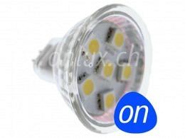 LED Bulb : onlux MicroLux 116 0.5W SMD - 40lm - 120° - G4 - MR11