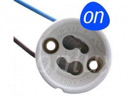 LED base / lamp socket GU10