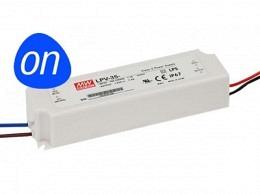 MW LPV LED Power Supply 35W 12V - Constant Voltage - IP67