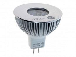 LED Spot Bulb : onlux BijouLux (Professional Selection) - 3.2W onlux Power LED - 230lm - 35° - GU5.3