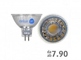 LED Spot Bulb : onlux MiroLux 35 GU5.3 COB-LED 12V - 4.6W 375lm Ra>85 36°(38W)