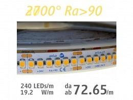 LED Strip : onlux Flexi 19-10 HW Ra>90 3528-LED 24V - 19.2W/m
