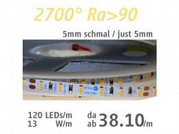 LED Strip : onlux Flexi 13-05 HW Ra>90 3014-LED 24V - 13W/m