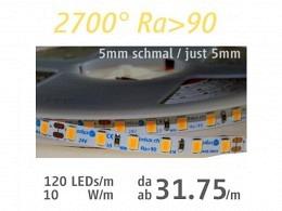 LED Strip : onlux Flexi 10-05 HW Ra>90 2835-LED 24V - 10W/m